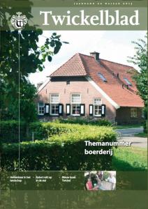 Twickelblad najaar 2013